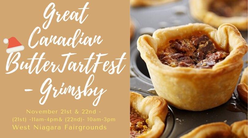 2020 Grimsby Butter Tart Fest Banner