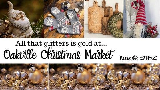 Oakville Christmas Market Banner