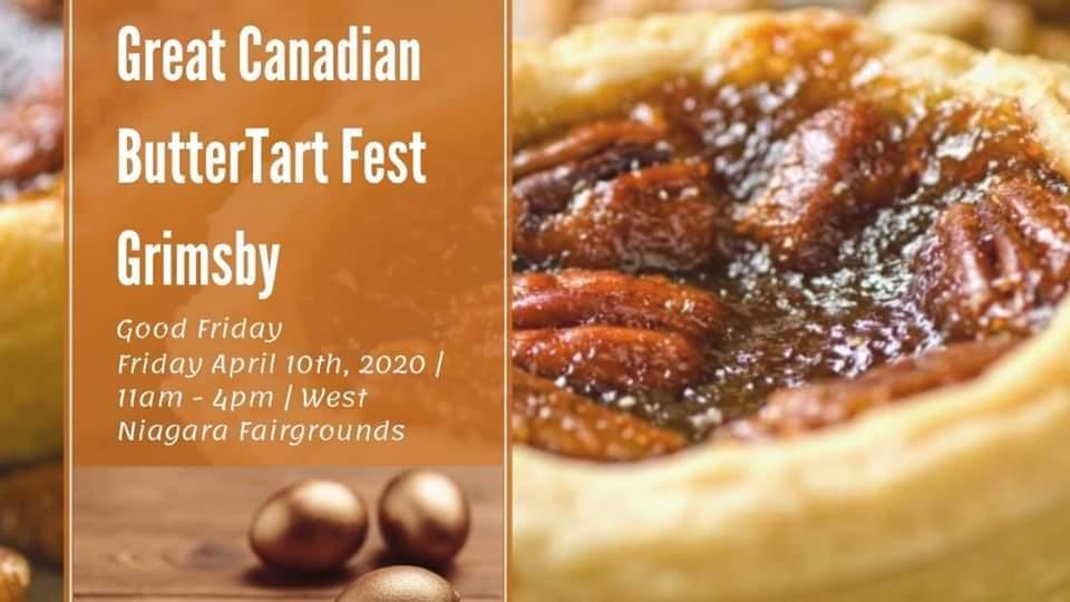 Butter Tart Fest 2020 -Grimsby Banner