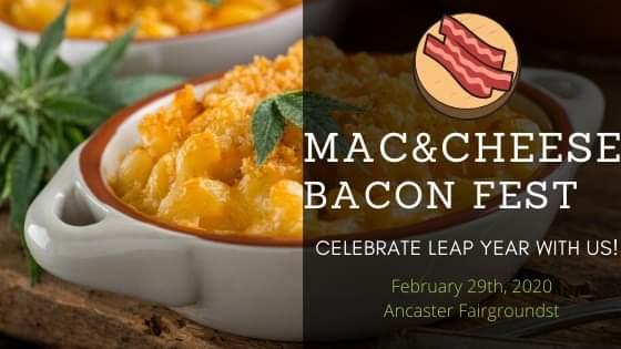 Mac & Cheese & Bacon Fest Banner