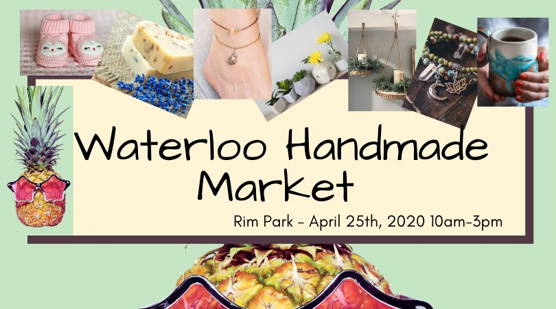 Waterloo Handmade Market Banner